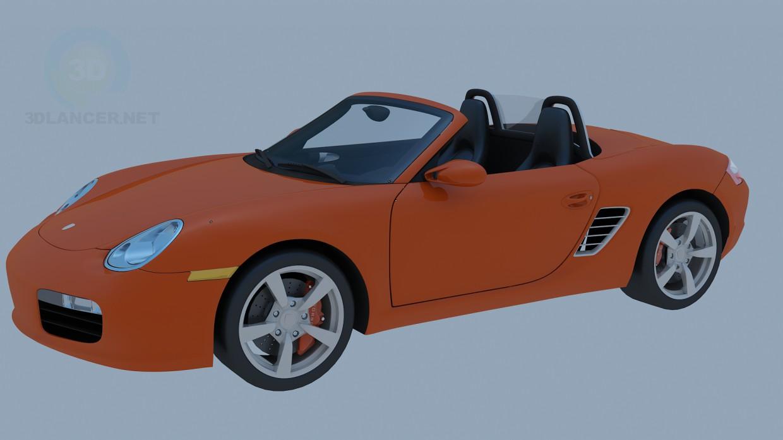modelo 3D Porsche - escuchar