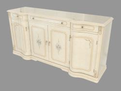 The dresser is 4-door (1920х940х550)