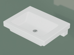Basin Artic 4561 for built-in (GB114651R101, 65.5 cm)