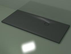Shower tray (30UBС124, Deep Nocturne C38, 180 X 80 cm)