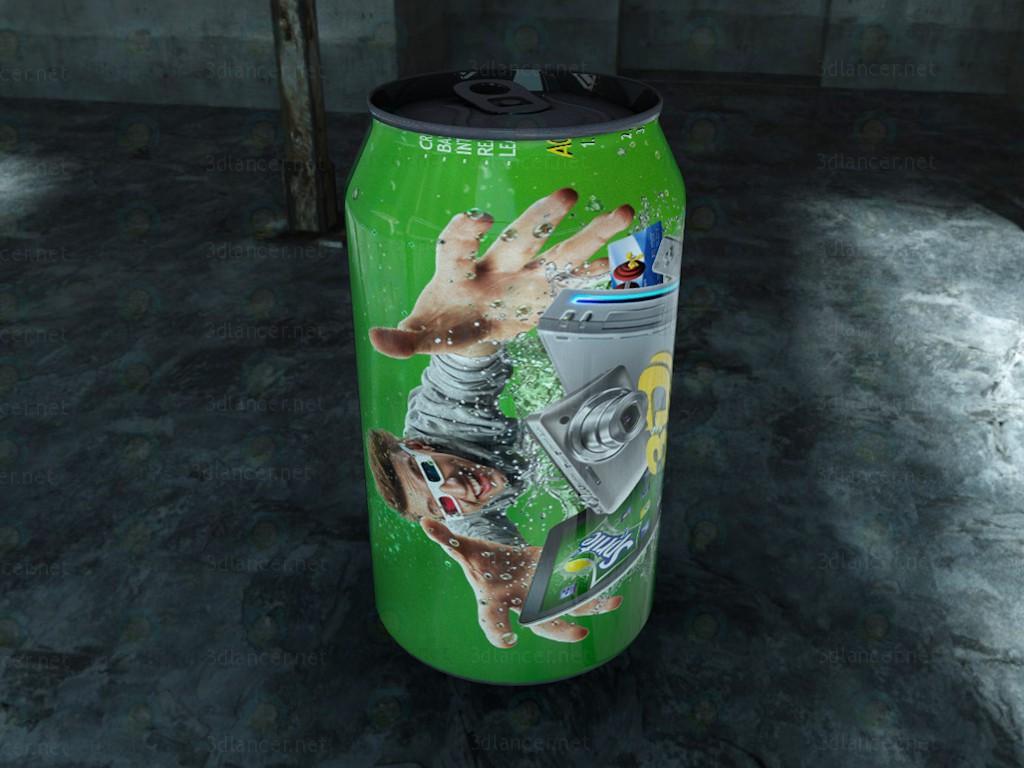Refresco Sprite - Sprite Soda pagado modelo 3d por escuchar Скрипай Владислав