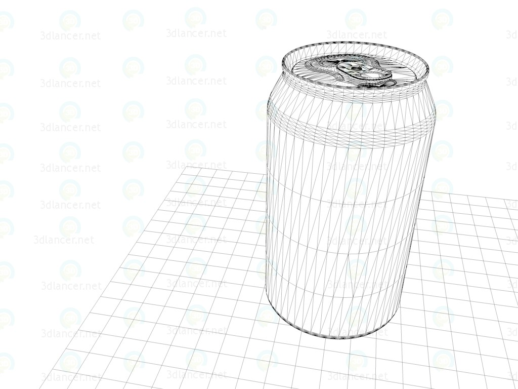 3d Soda Sprite - Sprite Soda model buy - render