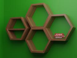 shelves JUAN URREA - HEXA 1