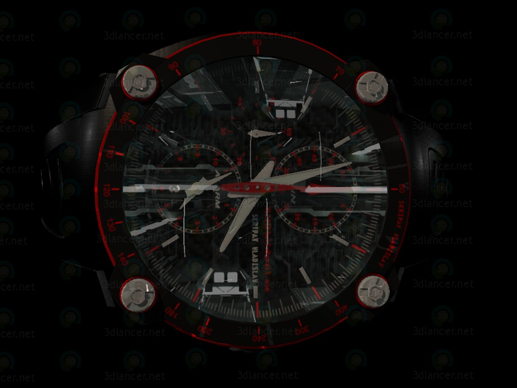 3d Clock - Годинники модель купити - зображення