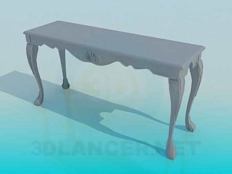 3D-Modellierung Konsole Modell kostenlos herunterladen