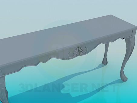 modelo 3D Consola - escuchar