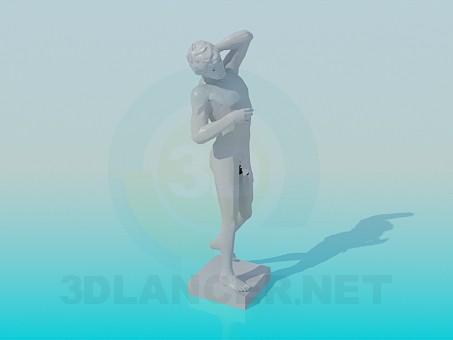 3d модель Памятник – превью