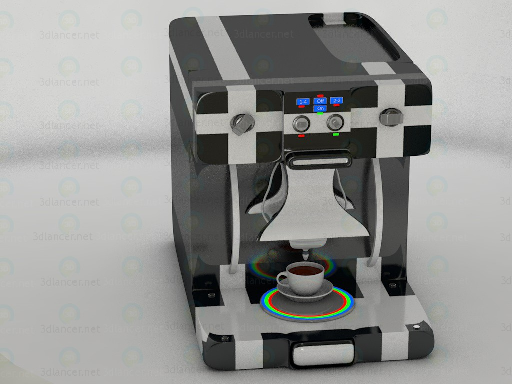 3d Model Coffee Maker Coffee Download For Free On