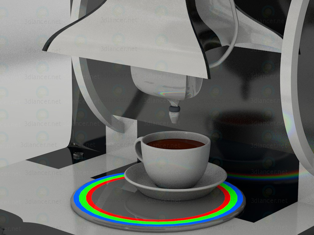 3d модель Coffee maker - Кавоварка – превью
