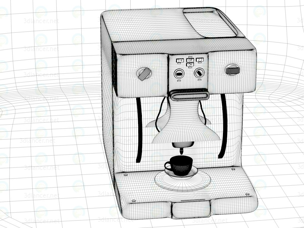 3d Model Coffee Maker Coffee Download For Free