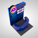 3d model Promotional Information Kiosk Stand - preview