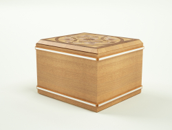 गहने बॉक्स, ढक्कन के साथ बॉक्स