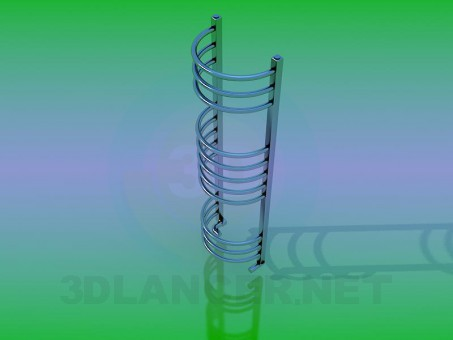 modelo 3D Radiador - escuchar