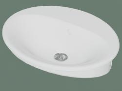 Pia do banheiro Nautic 5555 (55559901, 55 cm)