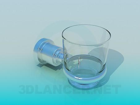 modelo 3D Vaso para cepillos de dientes - escuchar