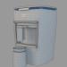 3D Kahve makinesi Beko BKK 2300 modeli satın - render