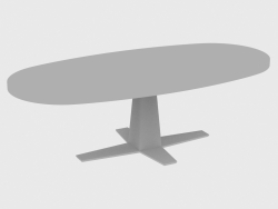 Dining table RIM TABLE OVAL (250x118xH76)