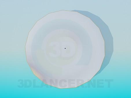 modelo 3D Placas de - escuchar