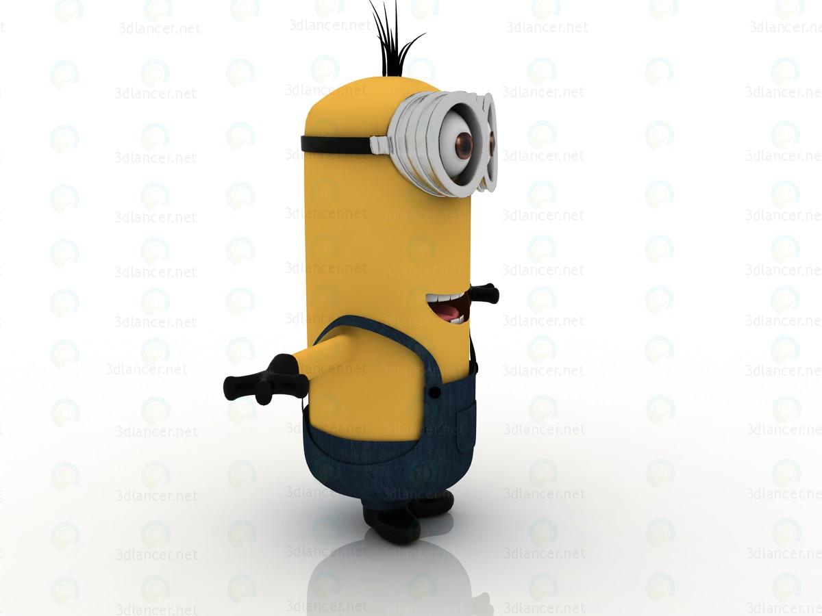 3d Minions 2015. Kevin mignon model buy - render