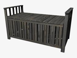 Storage bench (dark)