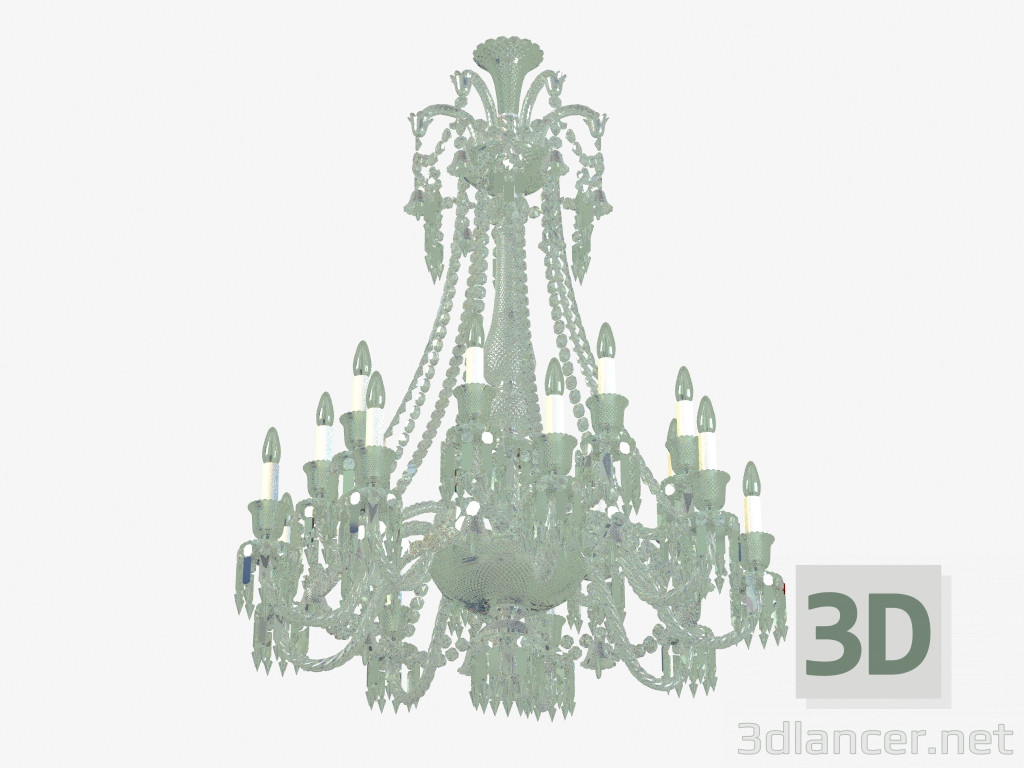 3d model Люстра Zenith Chandelier CCL 18L long 2 606 567