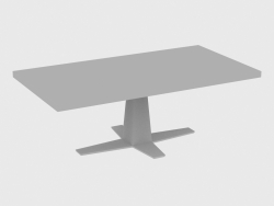 Dining table RIM TABLE RECTANGULAR (220x110xH76)