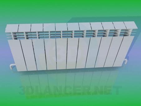 3d модель Батарея – превью