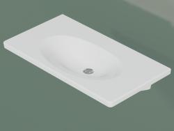 Lavello da bagno Nautic 5592 per mobile (55929901, 92 cm)