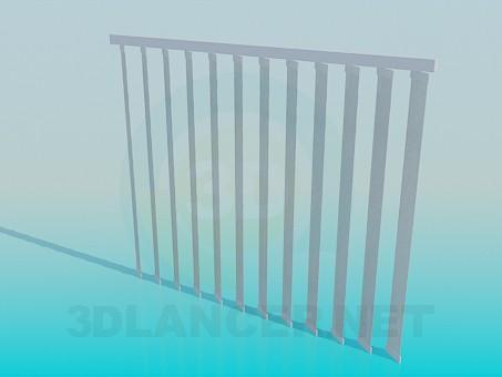3d модель Жалюзи вертикальные – превью