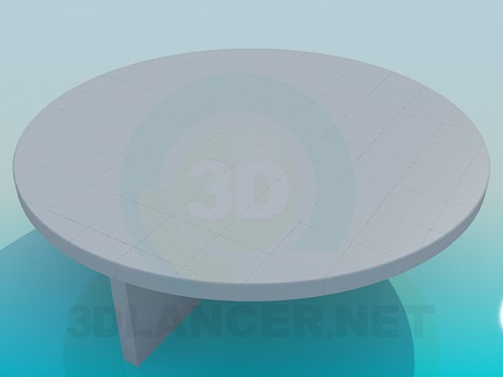 3d model Original round table - preview