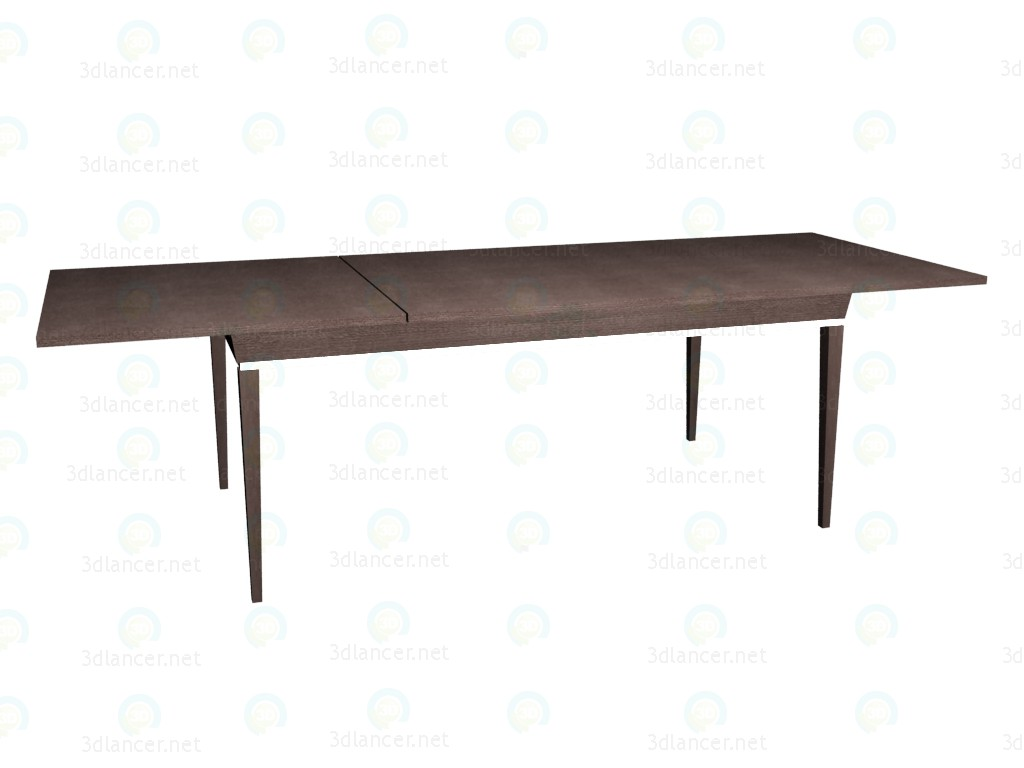 3d modeling Folding table (decomposed) 180 model free download