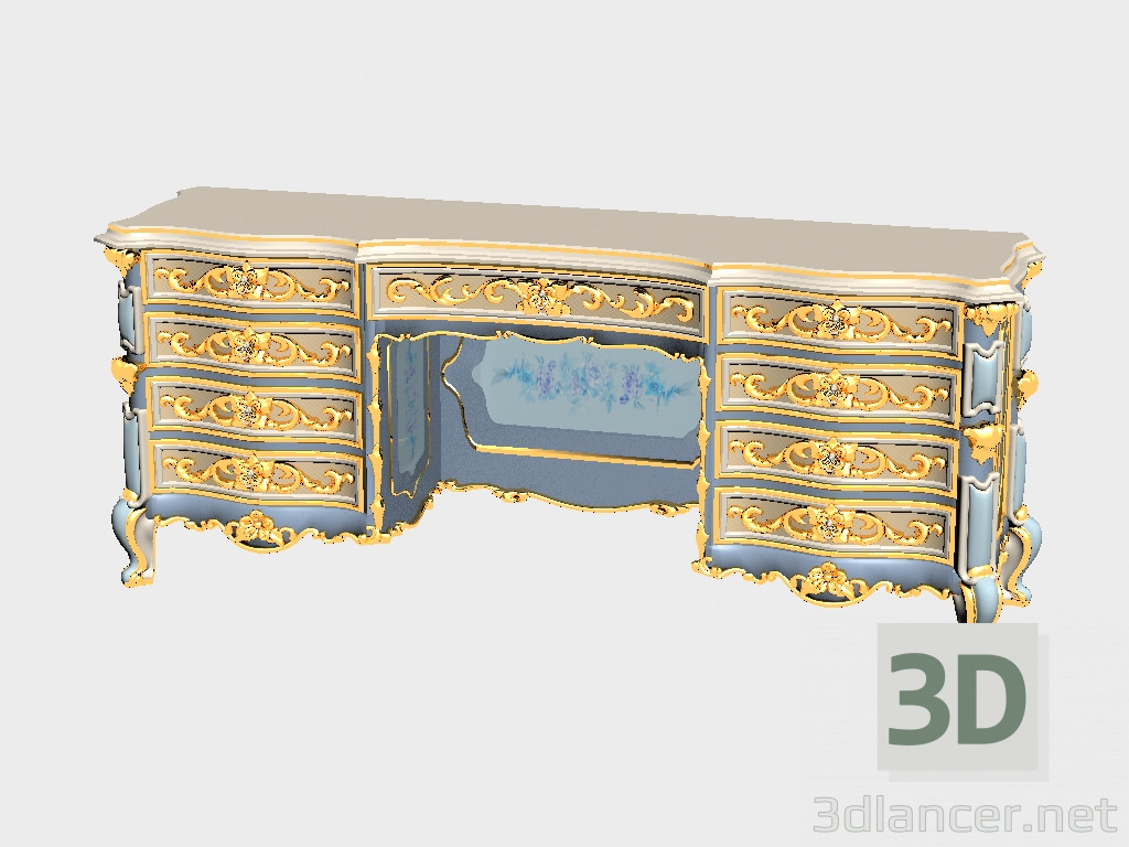 3d Model Dressing Table Manufacturer Asnaghi Interiors