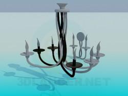 Lampadario e applique candele
