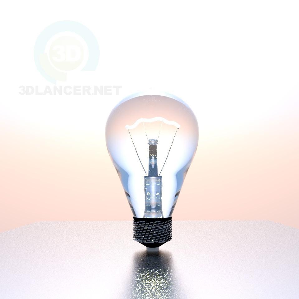 3d моделирование Лампа модель скачать бесплатно