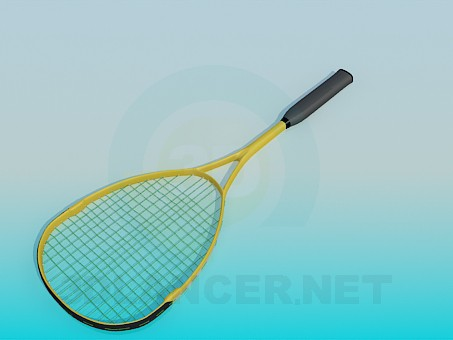 3d model Tennis racket - preview
