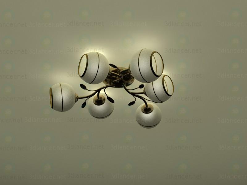 modelo 3D Araña de luces Eglo - escuchar