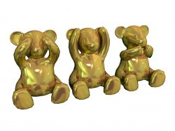 Spike Bears Gold