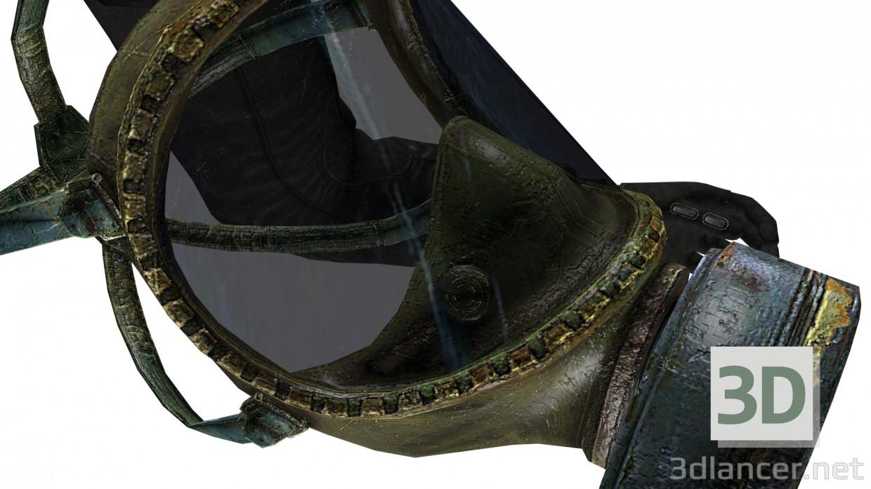 descarga gratuita de 3D modelado modelo Máscara de gas