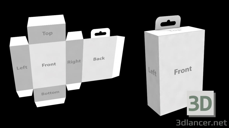 3d 3D Package Cardboard (Box or Bag) model buy - render