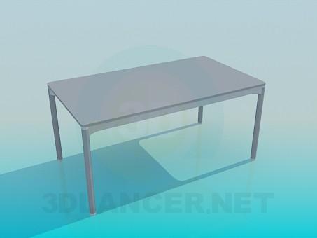 modelo 3D Mesa de la cocina - escuchar