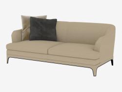 Sofá de cuero doble Oscar (208х98х83)