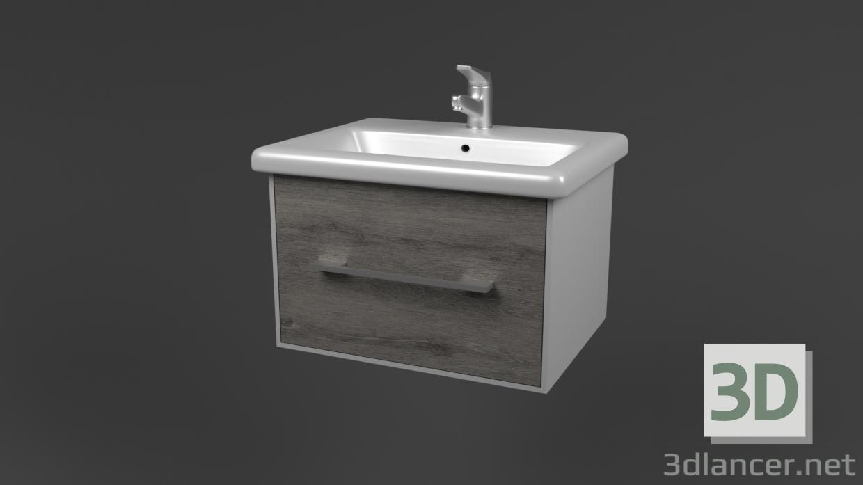 3 डी मॉडल सिंक फांसी - पूर्वावलोकन