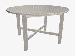 Round dining table (light)