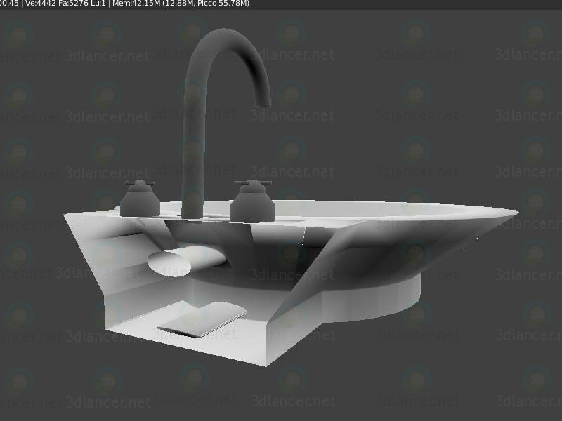 3d Sink - Lavabo model buy - render