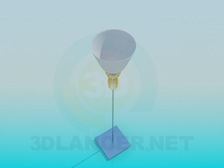 descarga gratuita de 3D modelado modelo Lámpara de pie