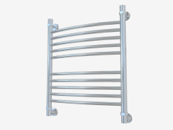 Heated towel rail Bohemia curved (600x500)