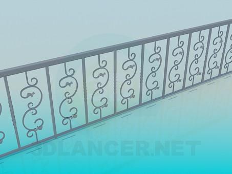3d моделирование Ограда модель скачать бесплатно
