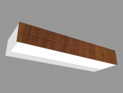 Wall lamp MINI-LOOK APPLIQUE WOOD SINGLE EMISSION L 220mm (L9201W)