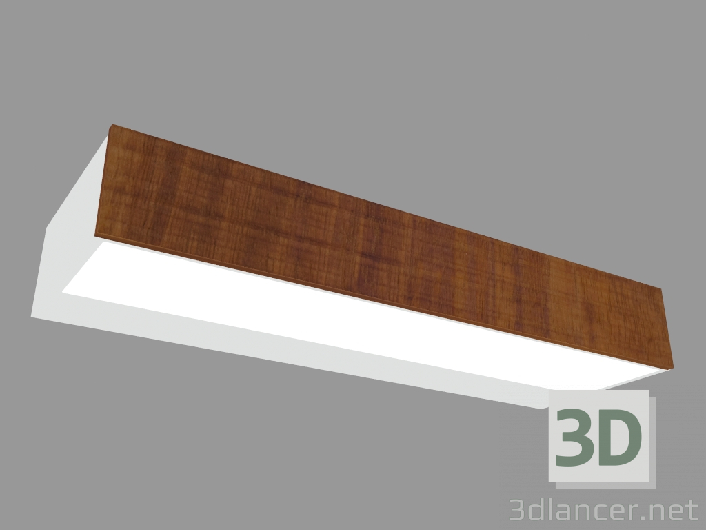 3 डी मॉडल दीवार दीपक मिनी-बुक APPLIQUE लकड़ी की गंध एल 220 मिमी (L9201W) - पूर्वावलोकन