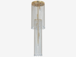 छत प्रकाश उपकरण क्रिस्टल (C110231 8gold)